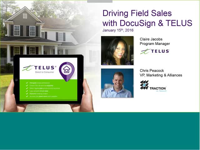 How Telus leveraged DocuSign and Salesforce to close more deals