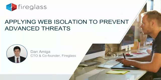 Applying Web Isolation to Prevent Advanced Threats