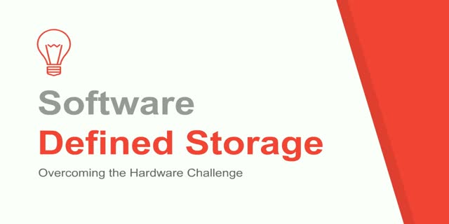 Software Defined Storage: Overcoming the Hardware Challenge