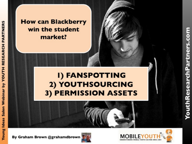How can Blackberry win the student market?
