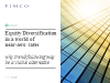 Equity Diversification in a world of near-zero rates