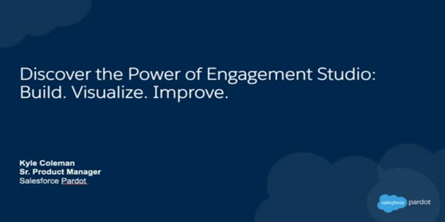 Discover the Power of Engagement Studio: Build. Visualize. Improve.