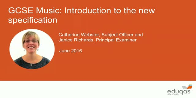 Eduqas GCSE (9-1) Music: new specification explained