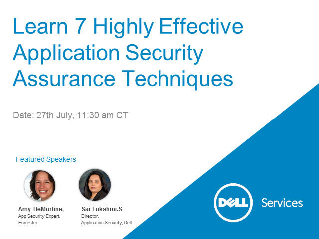 Learn 7 Highly Effective Application Security Assurance Techniques