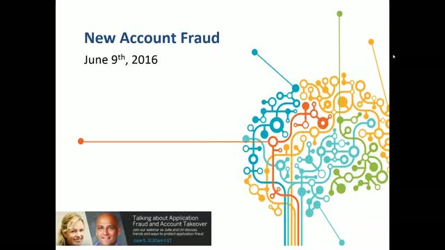 Talking about Application Fraud and Account Takeover