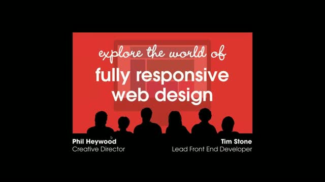 Explore the world of fully responsive web design