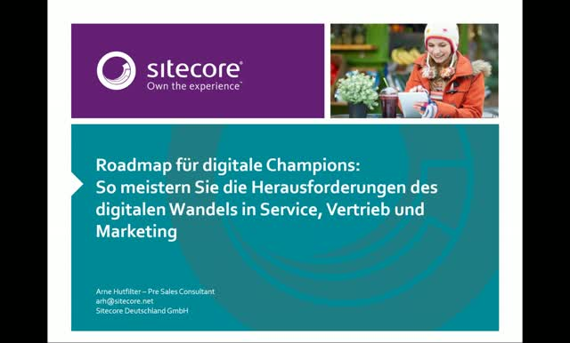 Roadmap für digitale Champions: Service, Vertrieb und Marketing