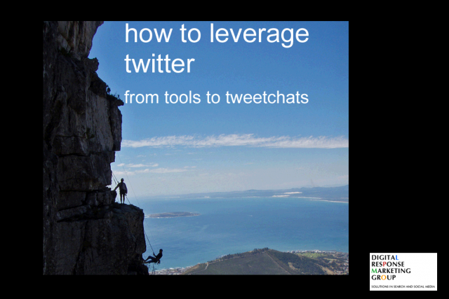 How to Leverage Twitter from Tools to Tweetchats