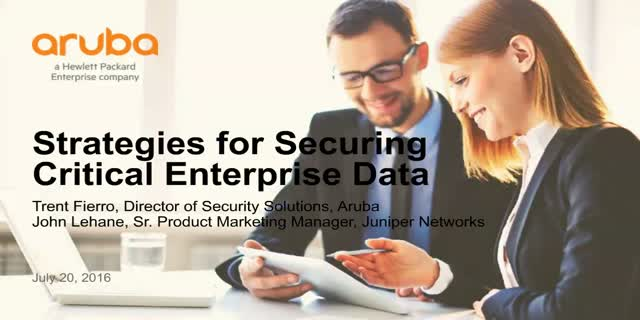 Strategies for Securing Critical Enterprise Data