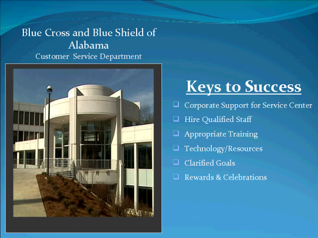Blue Cross Blue Shield Alabama - keys to contact center success