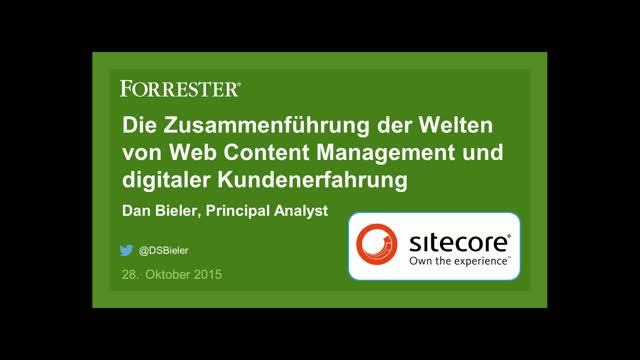 Vom Web Content Management zum Customer Experience Management
