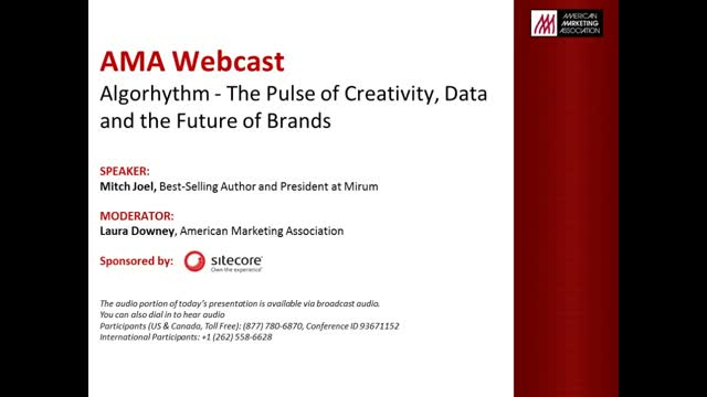 Algorhythm: The pulse of Creative, Data and the Future of Brands