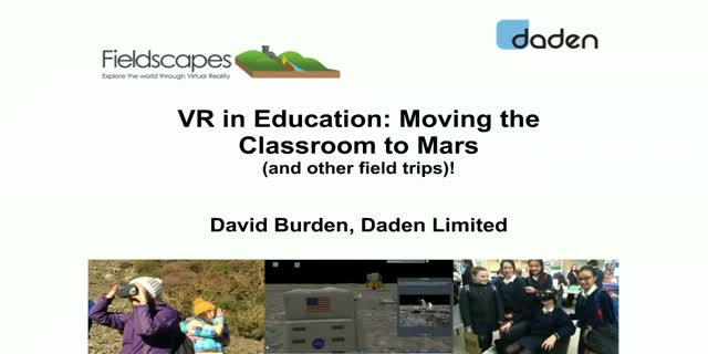 VR in Education: Moving the Classroom to Mars (and other field trips)!