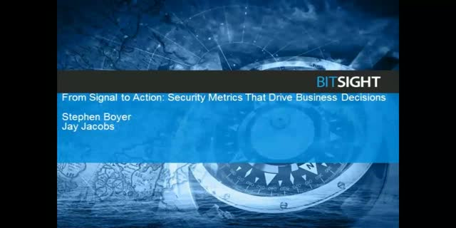 From Signal to Action: Security Metrics that Drive Business Decisions