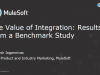 The value of integration: Results from a benchmark study