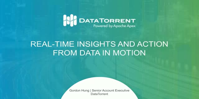 Data in Motion: It All Starts With Ingestion