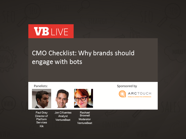 CMO Checklist: Why brands should engage with bots