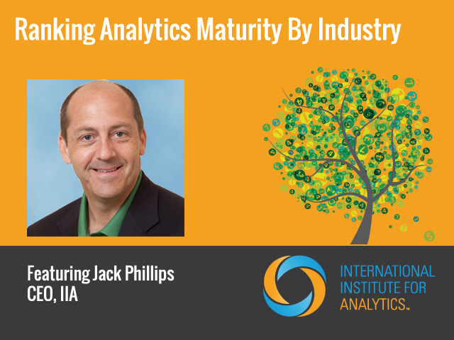 Ranking Analytics Maturity by Industry