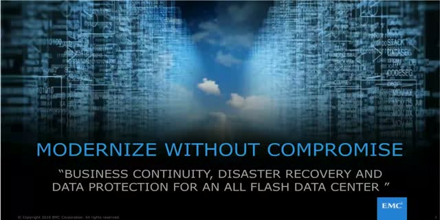 Business Continuity, Disaster Recovery, & Data Protection for All-Flash DC