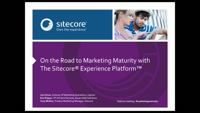 On the road to marketing maturity with the Sitecore Experience Platform