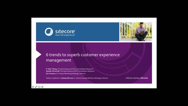 Six trends to superb experience management