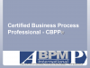 Introduction to ABPMP BPM Certification