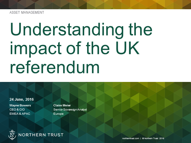 The UK Referendum on EU Membership