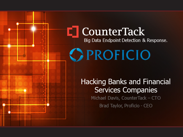 Hacking Banks and Financial Services Companies