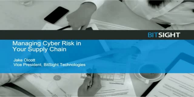 Managing Cyber Risk In Your Supply Chain