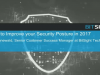 3 Tips to Improve your Security Posture in 2017