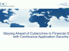 Defeating Cybercrime: Continuous Application Security for Financial Services