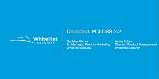 The Latest in Compliance: PCI DSS 3.2 Decoded