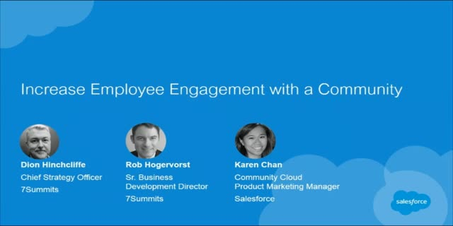 Increase Employee Engagement with a Community