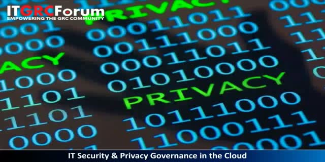 IT Security & Privacy Governance in the Cloud