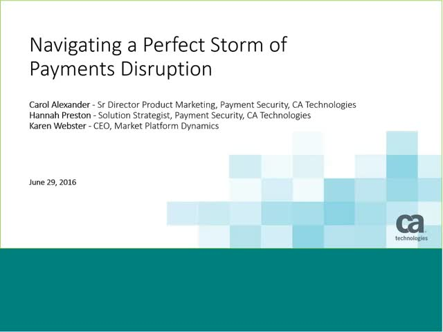 Navigating a Perfect Storm of Payments Disruption hosted by PYMNTS.com