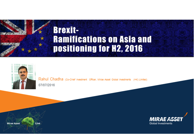 Brexit - What does it mean for Asia?