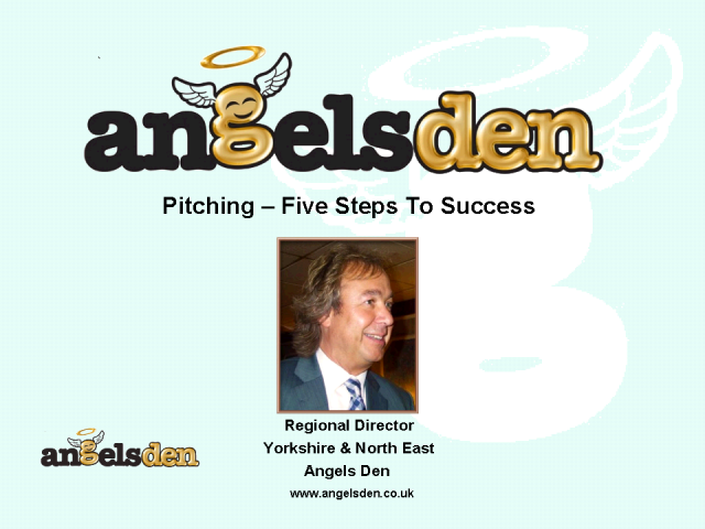 Pitching - Five Steps to Success