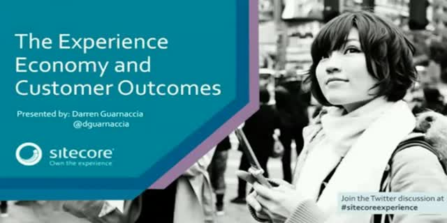 The Next Disruption: The Experience Economy and Customer Outcomes
