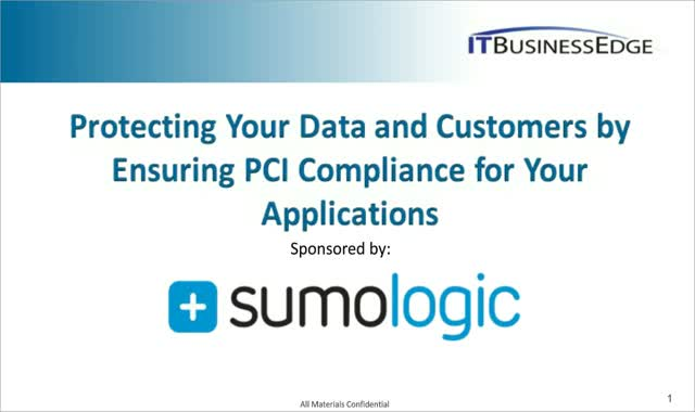 Protecting Your Data and Customers by Ensuring PCI Compliance for Your Apps