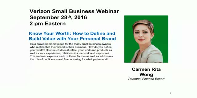 Know Your Worth: How to Define and Build Value with Your Personal Brand