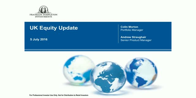Franklin UK Equity Update