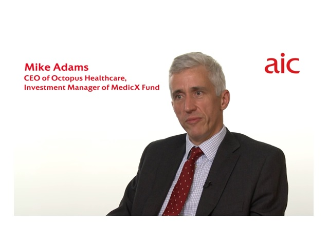 Mike Adams, CEO, Octopus Healthcare, Investment Manager of MedicX Fund
