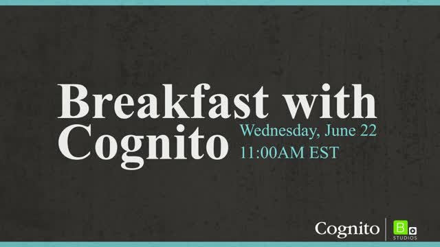 Watch Breakfast with Cognito: Panel Discussion on Financial Services Marketing