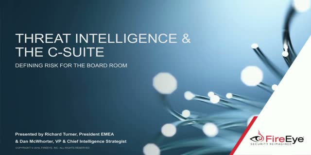 Using the power of threat Intelligence with the board