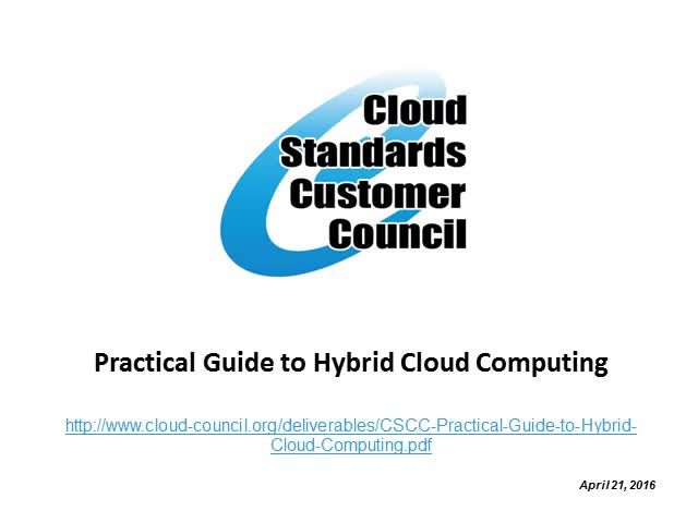 Practical Guide to Hybrid Cloud Computing