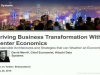Driving Business Transformation With Data Center Economics