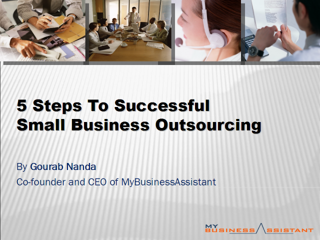 5 steps to Successful Back Office Outsourcing
