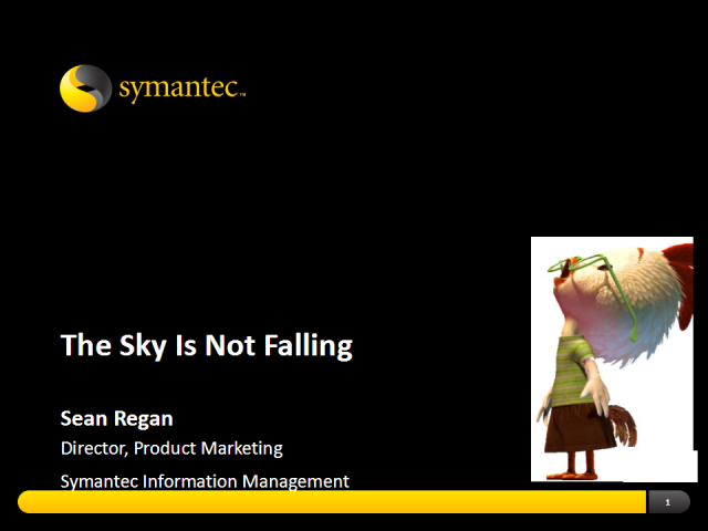 The Sky is Not Falling: An e-Discovery Success Story