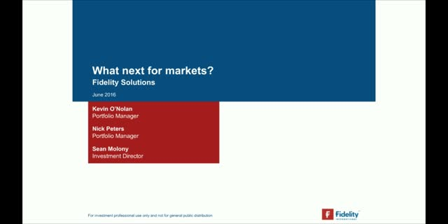 The results are in and we're out - what next for markets?
