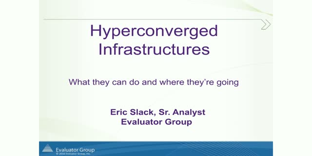 Hyperconverged – What is it, What it can do and How the Enterprise is using it